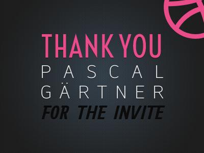 Thanks Pascal Geartner