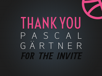 Thanks Pascal Geartner