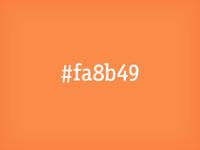 #fa8b49