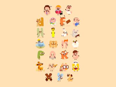 The Meme alphabet