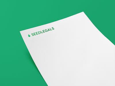 Seed Legals startups fundraising design branding logo