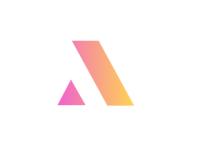 Letter A logo branding logo