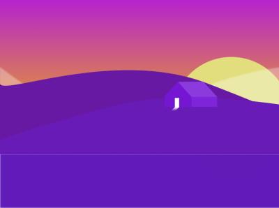 Residence landscape graphic design