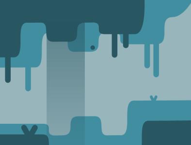 Cavern landscape graphic design