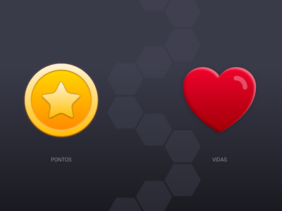 Trivia Icons 2 icons android ios star points coin heart life trivia mobile