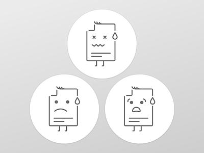 Error icons error design icons icon ui mobile