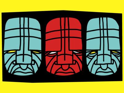 3 Faces Poster Details