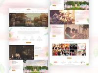 Anastasia Wedding Project Website