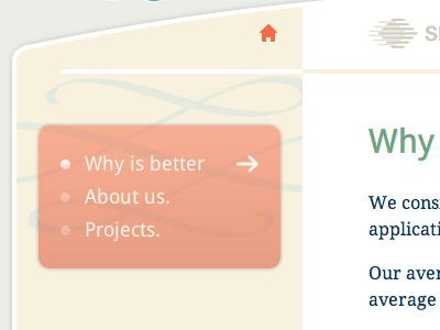 Delaware Software website navigation