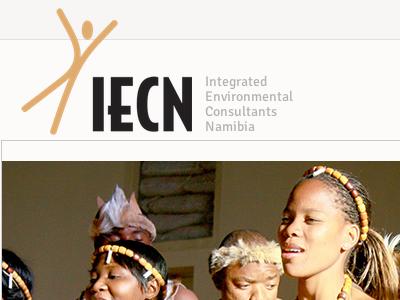 IECN Namibia website web