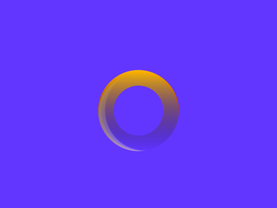 Loop Gradient icon circle logo circle gradient sketch colors