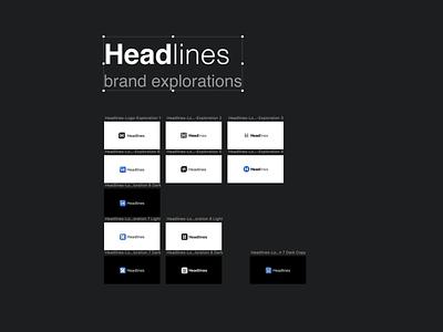 Headlines Brand Exploration reader news app news brand headlines