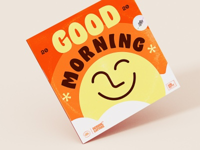 🌅 Good Morning with Lattice Design 🌈 tete smile songs 3d art 3d cover illustration