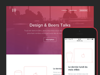 Design & Beers Talks New Site