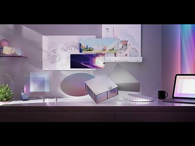 🎪 Lattice Virtual Conference render virtual space 3d conference virtual conference branding bonjour