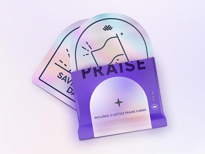 🙌 Praise Campaign Badges lattice praise badge campaign