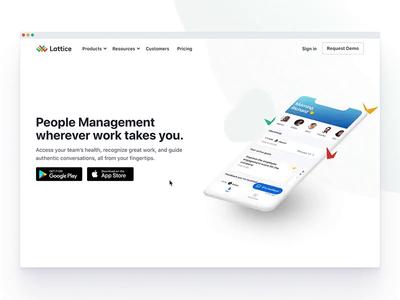 📱Lattice Mobile Apps Page