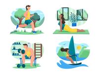 Sport activities