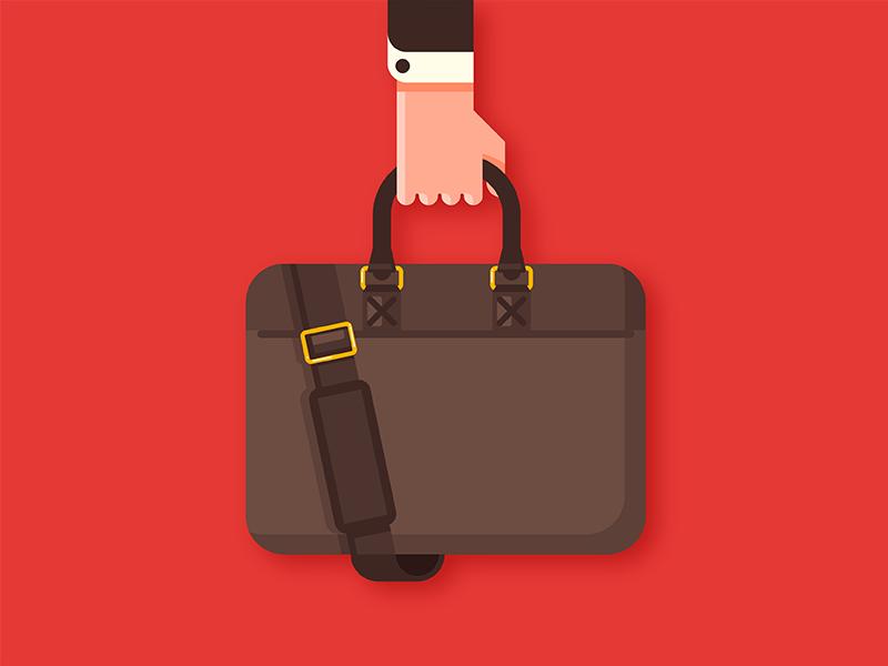 Work flat bag job work business