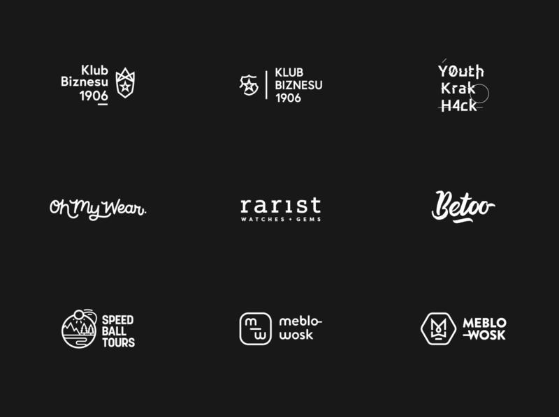 Logofolio #1 brand identity brand identity visual identity brush lettering branding logofolio logo
