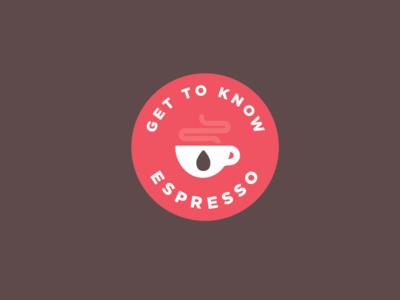 Espresso Badge