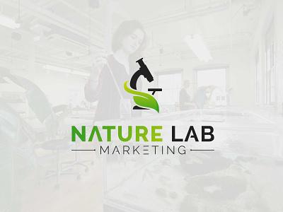Eco Leaf Lab Logo design logo vector branding icon design graphic design logo design modern minimalist leaf lab eco lab leaf lab logo eco lab logo eco leaf lab logo