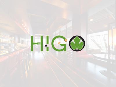 Higo Beach Part Restaurant Logo design vector branding icon design graphic design logo design modern minimalist logo restaurant beach logo party logo club logo