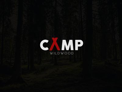 Camp Modern Minimalist logo logo vector branding icon design graphic design logo design modern minimalist brand identity camp design a letter camp logo