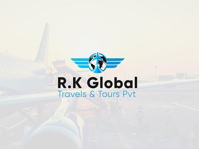 Globe Travel logo logo vector branding icon design graphic design logo design modern minimalist modern logo globe logo travel logo