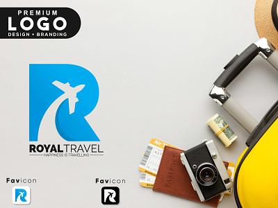 R Travel Minimalist logo design & Brand Identity corporate identity brand identity logo vector branding icon design graphic design logo design modern minimalist r travel r letter r logo