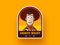 Sheriff Woody Badge