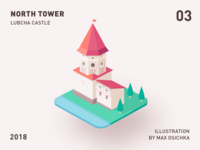 Lubcha Castle | North Tower