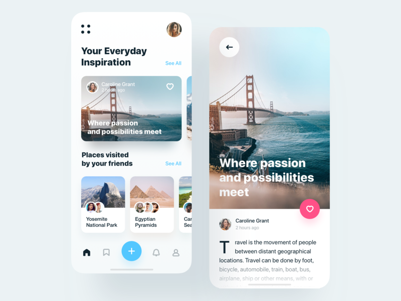 Travel Inspiration App