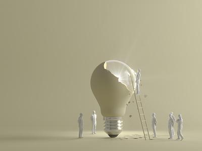A conceptual Design graphic design illustration