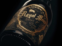 Royal Mead Label Design