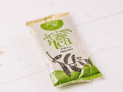 Joffreys Tea Packaging packaging iced tea tea