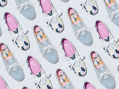 Keds + Birchbox final shoe designs