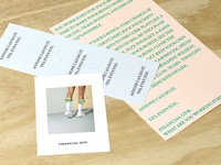 Financial Gym Printed Collateral