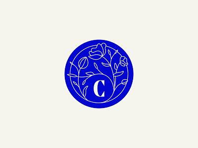 Unused Secondary Logo Concept flowers packaging lettering pattern typography logo illustration design branding