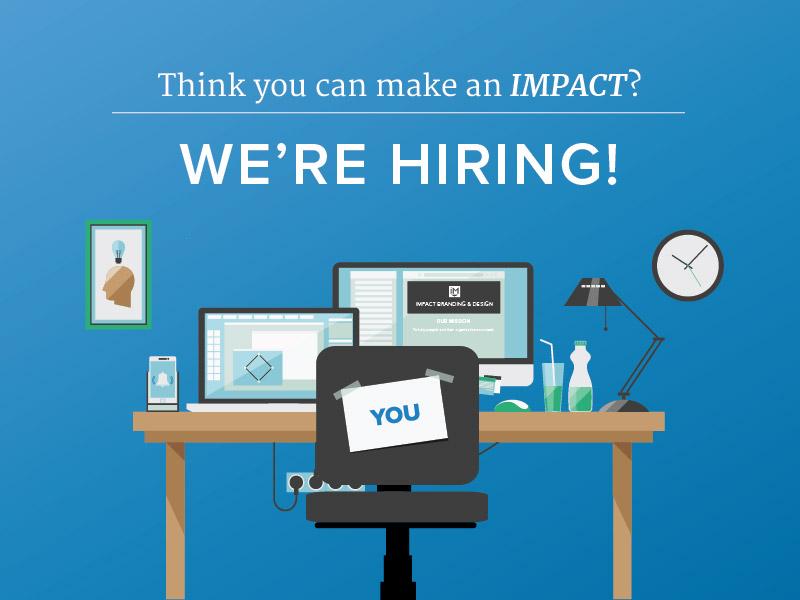IMPACT is Hiring project strategist web design jobs hiring