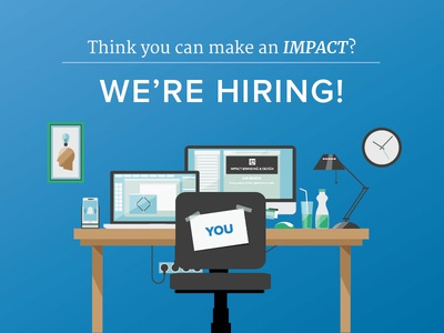 IMPACT is Hiring project strategist web design jobs hiring