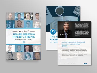 16 on 2016 Inbound Marketing Predictions eBook Design people marketing inbound marketing download book ebook