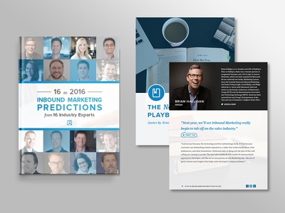 16 on 2016 Inbound Marketing Predictions eBook Design people marketing inbound marketing download book ebook