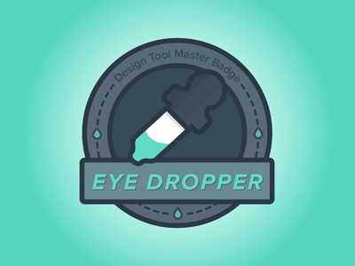 Merit Badge for Eye Dropper Masters