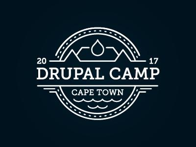 Drupal Camp Cape Town Logo drupal
