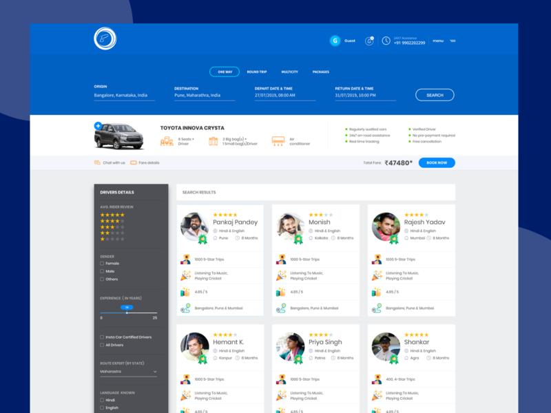 Car Booking Application dashboard car dashboard ui typography icon app web ux ui branding design