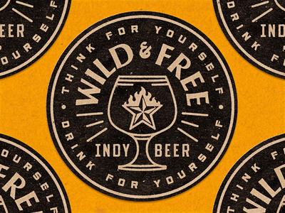 Indy Coaster texas craft beer independence coaster