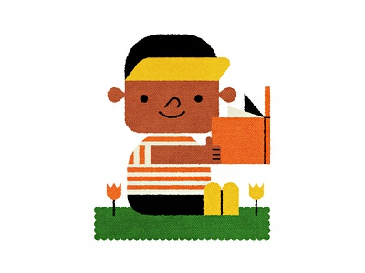 Cool 2 Read illustrator character education book children kid illustration