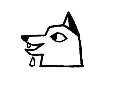 Hungry Fox illustration drawing ink animal illustration animal fox