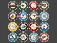 2016 Stanley Cup Icons